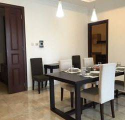 Apartemen Belleza Peramata Hijau Luas 122m2 2+1BR Full Furnished Private Lift
