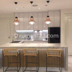 Disewa Luxurious 3BR+1 St. Moritz Puri Apartemen With Private Lift, Fully Furnished, Siap Huni