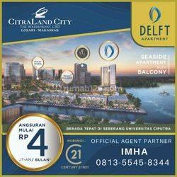 Apartment delft citraland city losari pertama di Makassar dengan pemandangan sunset terindah dunia