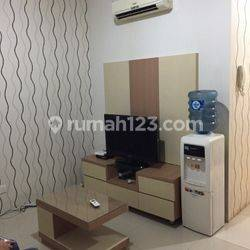 Aprt cosmo mansion siap huni full furnished bagus