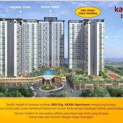 Subsidi DP s/d 5% Kamaya tower - Apartemen Akasa BSD City