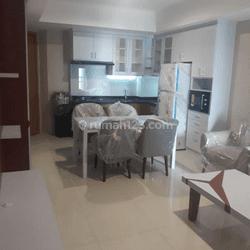 kan  Apartemen Mansion Kemayoran tower Jasmine 2 Br furnished siap huni