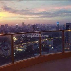 Kemang Village tower Tiffany 3 BR balkon size 205 sqm