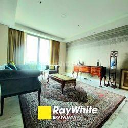 Apartemen Di Senayan City Residence, Mid Floor, Furnished, Senayan Golf View, 3 Bedrooms
