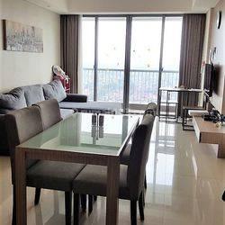 Disewakan apartemen furnished mewah 2+1 BR di St.Moritz, Kembangan-Jakarta Barat #0012-SUS