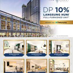 Apartemen West Vista - Unit Sudah Jadi (Fully Furnished) - Jakarta Barat (DP 10% Saja)