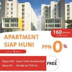 PPN 0% Apartemen Aeropolis Residence  Tangerang