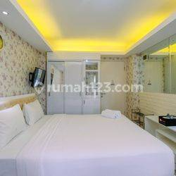 Studio, 1BR & 2BR Furnished & Unfurnished with AC Kalibata City Apartment by Travelio