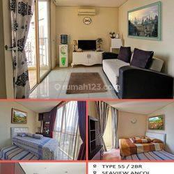 Apartemen Best Western Mangga dua , 2BR ( 55m2 ) , Furnish , Hrg: 750 Jt , Sawah Besar , Jakarta Pusat