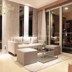 Apartment Menteng Park Type Business Suites 3 Bedroom, Full Furnished, Mewah.