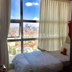 WTS APT CASABLANCA MANSION 3BR VIEW CITY FULLY FURNISHED CHEAP AND STRATEGIC LOCATION