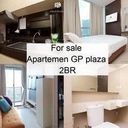 Apartemen GP plaza 2BR Fully furnished Elektronik lengkap