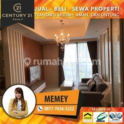 Apartemen The Mansion 2BR Furnished Luas 63m2 Lrendah View City