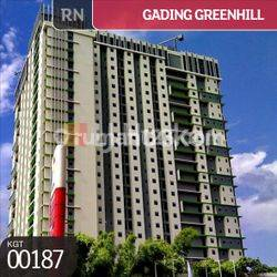 Apartemen Greenhill B 08, Pegangsaan Dua, Jakarta Utara