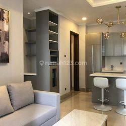 Apartemen District 8 Type 2 Bed Furnish Bagus