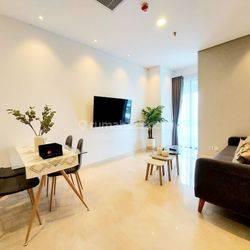 Apartemen Sudirman Suite, Full Furnish, Siap Huni, Mewah, Bagus