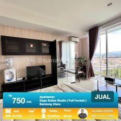 Oke Banget!! Dago Suites Apartemen Type Studio 35m2 Full Furnish