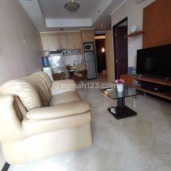 Apartemen Bellagio Residences 2 bedroom fully furnished siap huni bagus di jakarta selatan