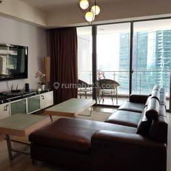 Apartemen ST Moritz Tower New Ambassador 3 BR Furnished Puri Indah