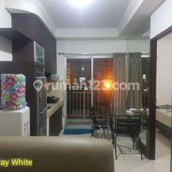 1 Bedroom Apartemen Mediterania 2 Central Park Lantai Rendah Full Furnish View Pool