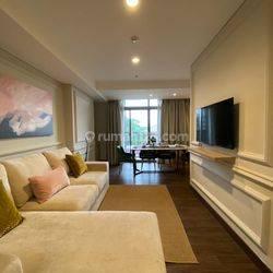 Apartemen Pejaten Park, Type Hoek, 2 BR, Fully Furnished (AW)