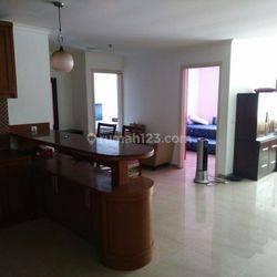 Apartemen Permata Senayan 2BR Furnished Bagus Lantai Sedang