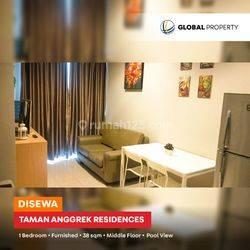 Taman Anggrek Residences - Tower Daffodil - 1 BR - 38 sqm - Furnished