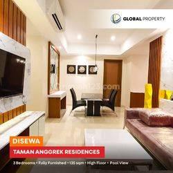 Taman Anggrek Residences - Tower Azalea - 3BR - 135sqm - FF