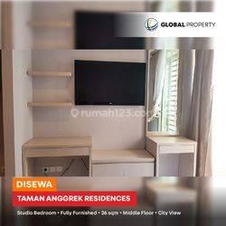 Taman Anggrek Residences - Tower Fragrant - Studio Bedroom - 38sqm -FF