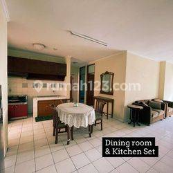 3 Bedroom Apartemen Graha Cempaka Mas Furnished Clean And Tidy