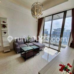 Murah Apartemen Taman Anggrek Residence 2BR+1 (99 m2) Full Furnished, 120 Juta/Tahun, Taman Anggrek, Jakarta Barat