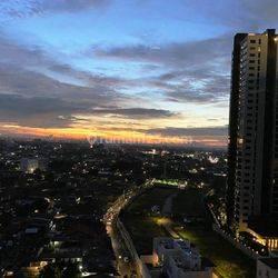 Apartemen 1 park residence di gandaria kebayoran baru jakarta selatan