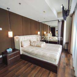 Apartemen The Royale Springhill Residences Tower Magnolia Two Bedroom Fully Furnish