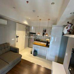 APT THE MANSION BOUGENVILLE-LUAS52SQM-2BR-BAGUS FULLY FURNISH-TOWER EMERALD-IDR1,5M NEGO