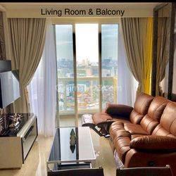 Apartemen Menteng Park 2 Bedroom Lantai Tinggi Semi Private Lift