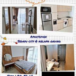 Disewakan Apartemen Sedayu City 1 Bedroom Kelapa Gading