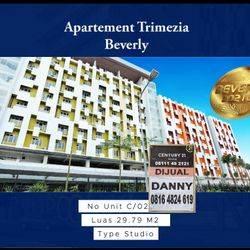 JUAL MURAH : Gading Serpong, Apartement Trimezia Beverly, Tower C Lantai 2