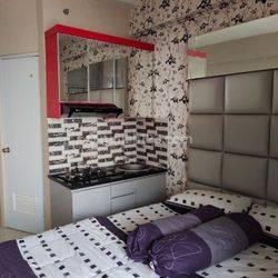 Green Pramuka City Apartment Studio  Furnished
