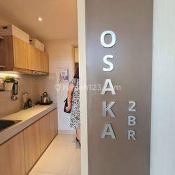 Apartemen Osaka PIK 2 ( Type 2BR)
