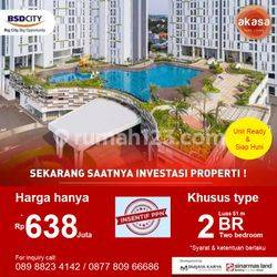 Spesial Price 2BR Apartemen Akasa BSD City by Sinarmas Land