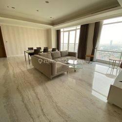 Apartemen Botanica 3 Bedroom Lantai Tinggi Tower 3 Furnished
