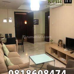 Apartemen Bellagio Residence 2 Bedroom Lantai Sedang Furnished