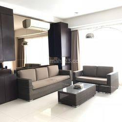 Apartemen 1 Park Residence 3 Bedroom Lantai Rendah Furnished