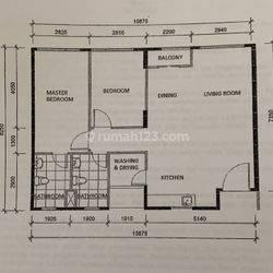 Apartemen LLYOD type 2BR Lokasi Sangat Strategis di Alam Sutera