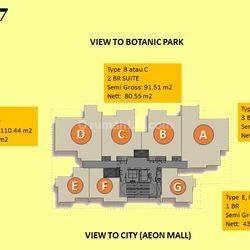 Apartemen Siap Huni di Marigold Tower 7 BSD City