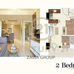 Apartemen Daan Mogot City 2BR Semi Furnished