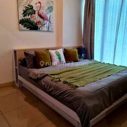 cepat apartment treepark bsd tipe 1 bedroom full furnished tinggal bawa koper