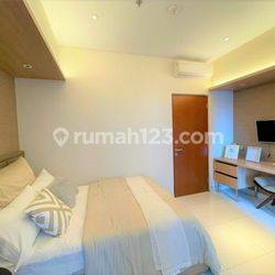 Bersih, Terawat, Full Furnished 1 BR di Apt Roseville SOHO and Suite, BSD City