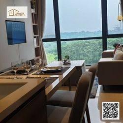 Apartemen Marigold Dengan View Botanic Garden