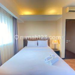 2BR/3BR Furnished at Braga City Walk Apartment By Travelio
